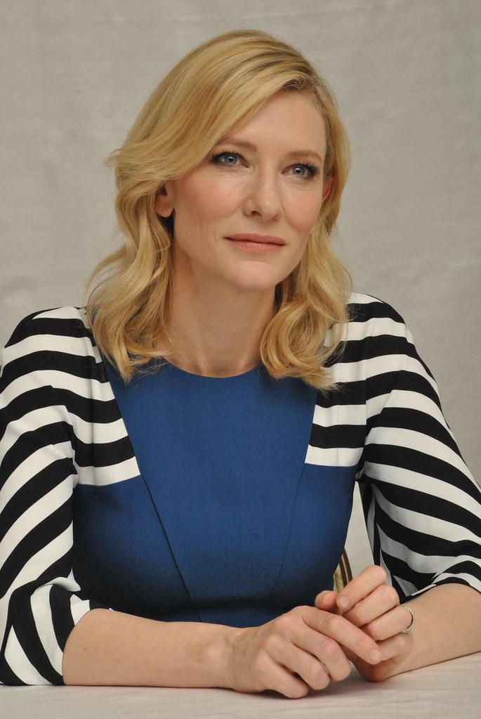 Кейт Бланшетт — Пресс-конференция «Кэрол» 2015 – 19