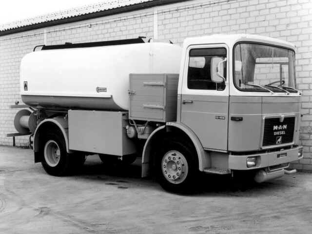 Цистерновоз MAN F8 15.168 Tanker. 1967 – 1987 годы