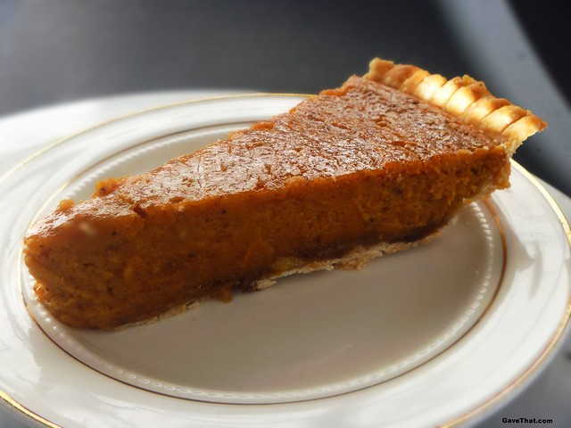 Making a Patti LaBelle Sweet Potato Pie from scratch recipe on gift style blog Gave That