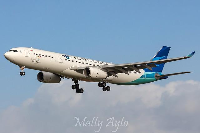 Garuda Indonesia PK-GPV A330 GA714 YSSY -4486