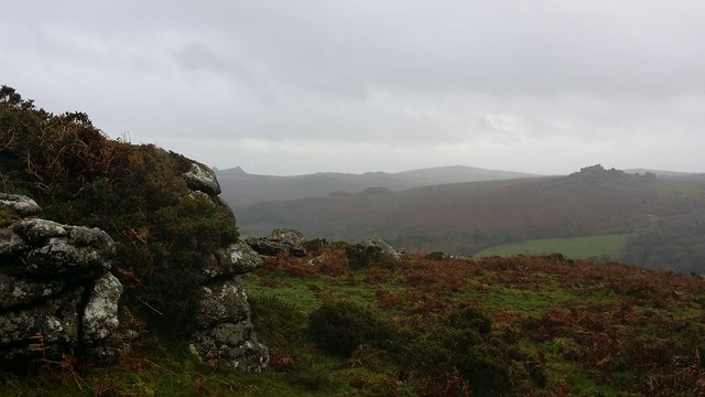 Hound Tor from Southcott Rocks