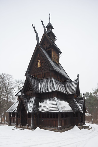 Gol Stave Church at the Norsk Folkemuseum
