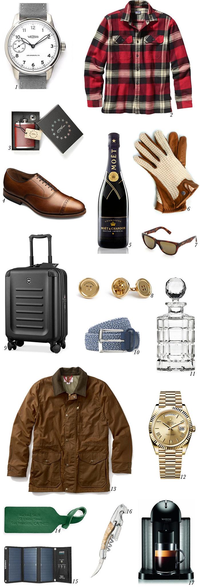 2015 holiday wish list men