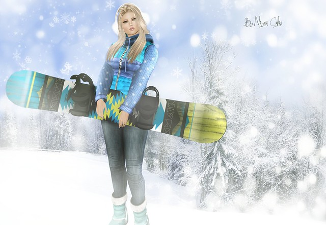 Come on! take your snowboard♥