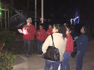 2nd Christmas Caroling outreach