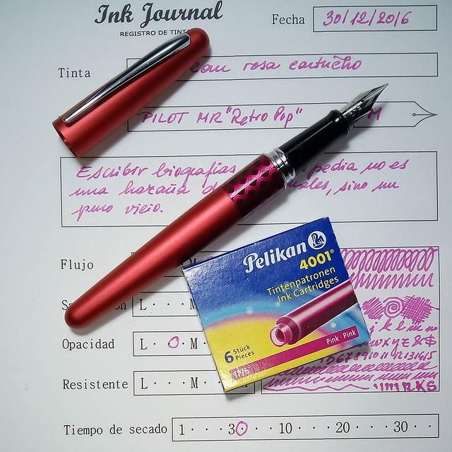 Tinta rosa de Pelikan