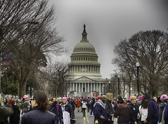Approaching the Capitol building