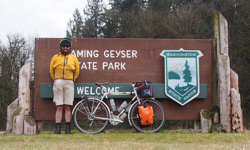 Neil and Ivory Pass at Flaming Geyser State Park