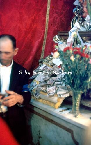 Tolve (PZ), 1972, Festa di San Rocco.