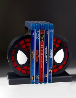 Gentle Giant【蜘蛛人標誌造型書擋】Spider-Man Logo Bookends