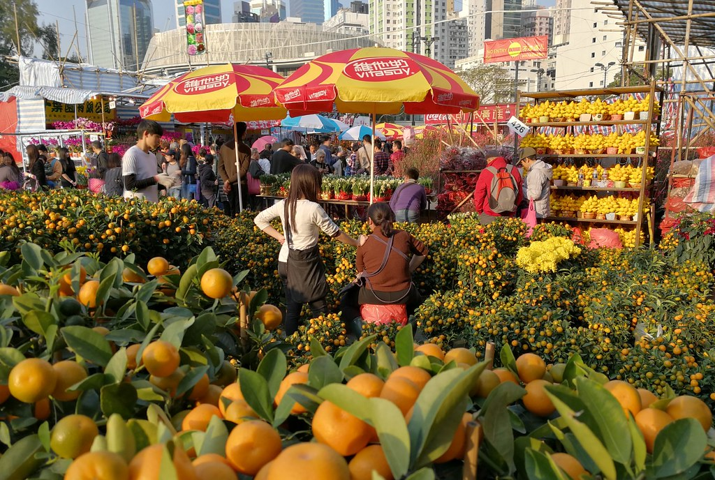 Lunar New Year Fair in Hong Kong