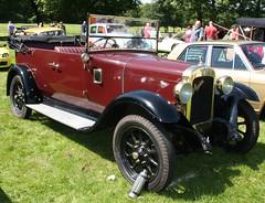 Vintage car - Austin heavy 12 Tourer