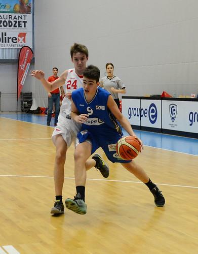 Grande Finale Fribourg Académie U16m -  Swiss Central Basket 18
