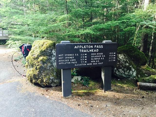 Appleton Pass Trailhead
