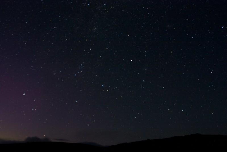 Stars and Aurora