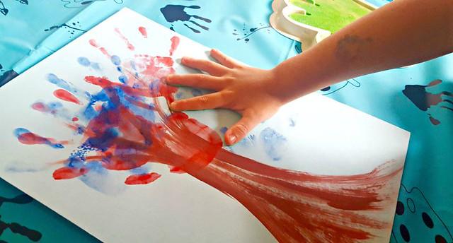 Making handprint trees