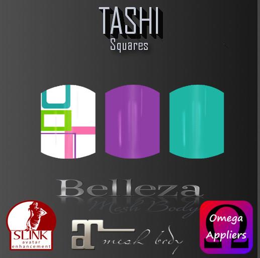 TASHI Squares