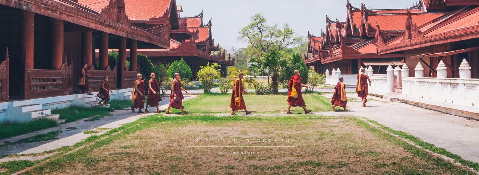 Abbey Road Monks, Mandalay