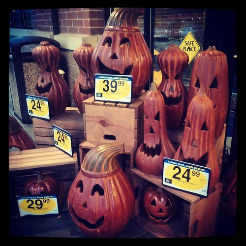It's August 17th and Kroger is already starting to roll out the Halloween stuff out. #StopRushingMySummer