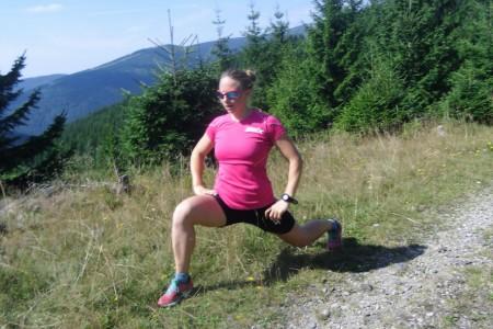 Běžkyně Karolína Grohová: čtvrtá vextrémním závodě, snovým tréninkem povinnostmi