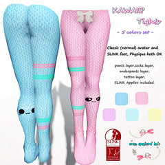 !creamSH! KAWAII? Tights AD