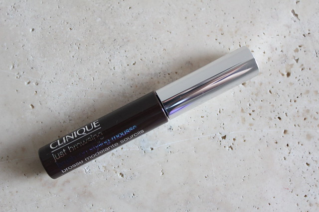 Clinique Just Browsing Brush-On Styling Mousse review