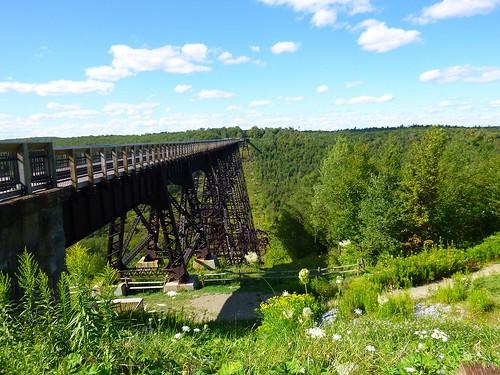 bridge pennsylvania scenic pa kinzua kinzuabridgestatepark