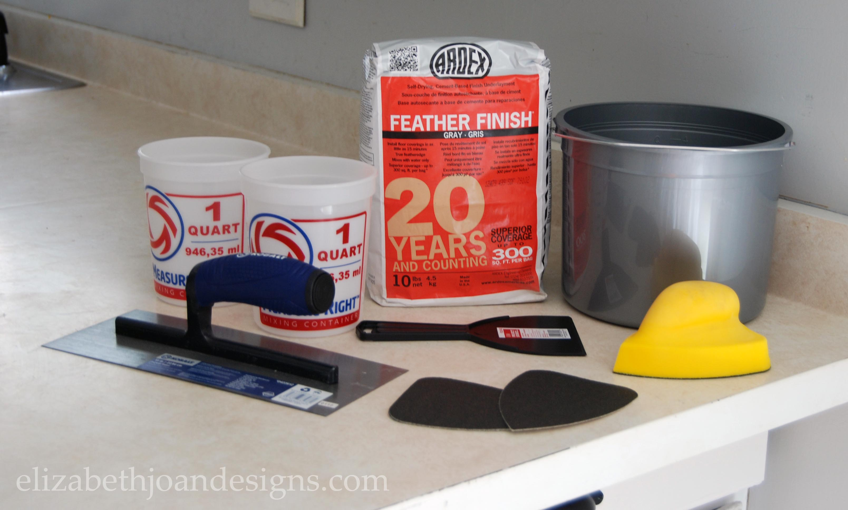 Concrete Counter Supplies