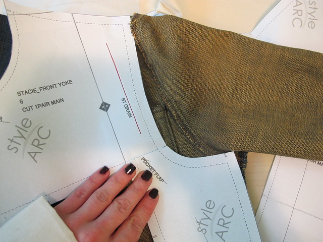 Stacie Jean Jacket - pattern adjustments
