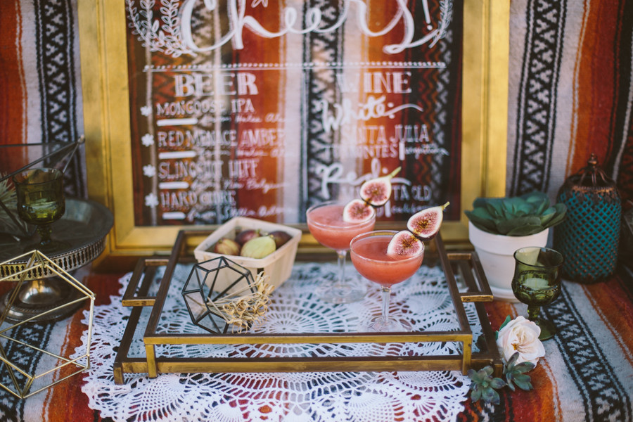 Vintage RV Elopement, Eclectic Wanderlust Wedding