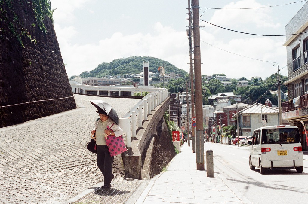 荷蘭坂 長崎 Nagasaki 2015/09/08 斜坡!  Nikon FM2 / 50mm Kodak UltraMax ISO400 Photo by Toomore