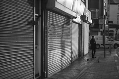 Off to work: Canton, Cardiff