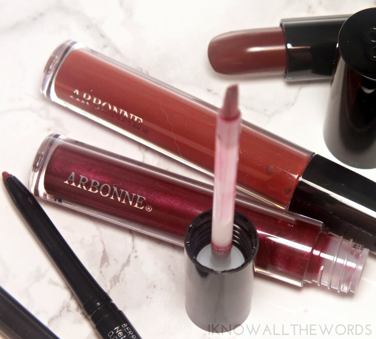 Arbonne Glossed Over Lip Gloss in Hyacinth and Anise (1)