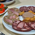 Kalte Platte zum Abendessen um 20:00 Uhr