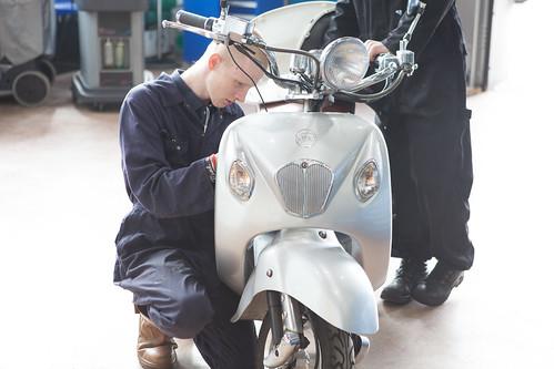 Motorcycle MOT Tester