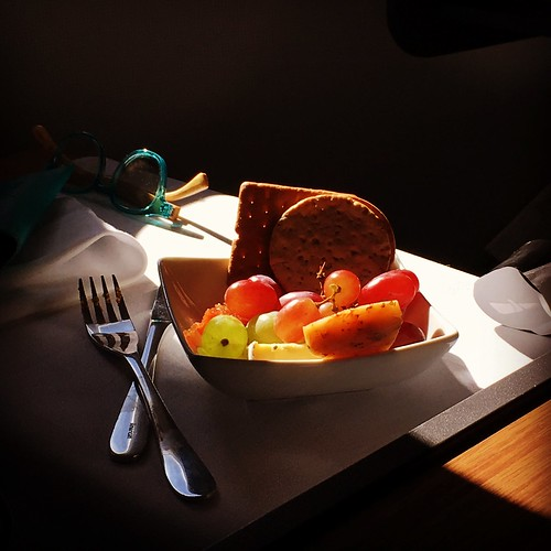 Dessert on my go-usa American airways flight