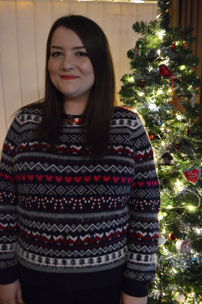 A picture of a Christmas jumper