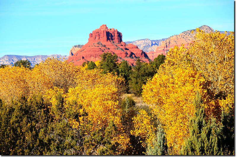 The Bell Rock from Red Rock Ranger Station & Visitor Center