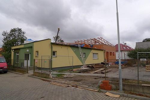 2009 - Přístavba fitcentra