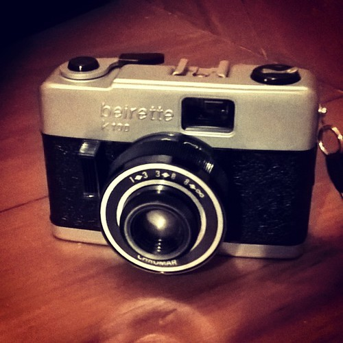 Beirette K100 35mm Soviet era DDR zone focus simple camera. #film