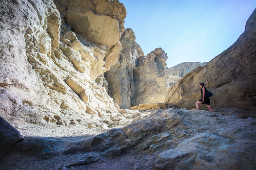 "Image titled ""Ashlyn, Golden Canyon, Death Valley."""