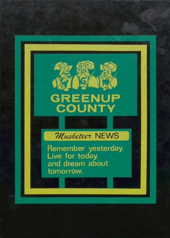 1985 Greenup County Yearbook