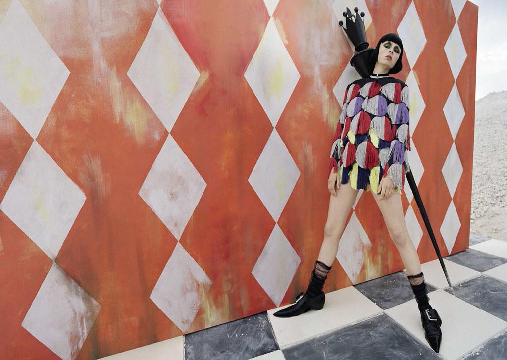 Эди Кэмпбелл — Фотосессия для «Vogue» IT 2015 – 1