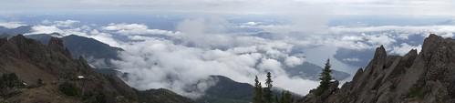 panorama lake clouds washington hiking olympicpeninsula nationalforest lanscape 812 lakecushman mtellinor olympicnationalforest mountellinor mtellinortrail812 mountellinortrail812