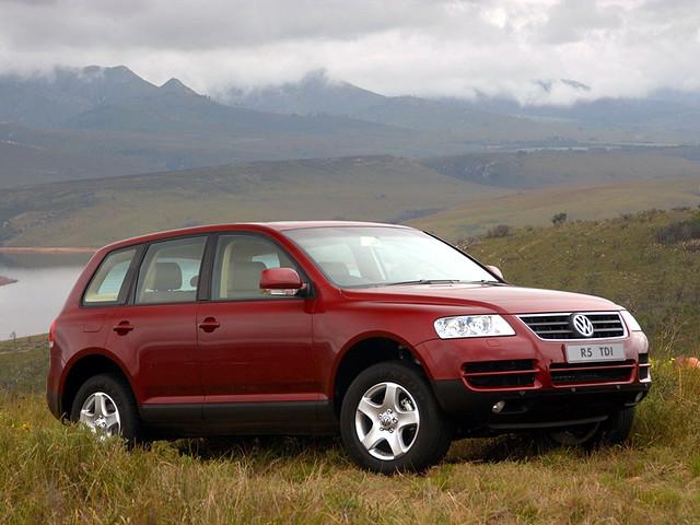 Volkswagen Touareg R5 TDI для рынка ЮАР. 2003 – 2007 годы
