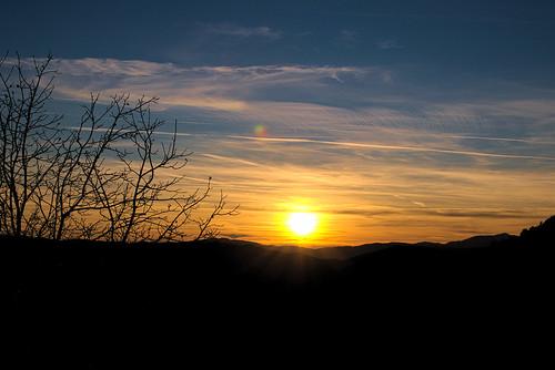 winter sunset sky greece getaways epirus ελλάδα zagori ζαγοροχώρια ηπείρου