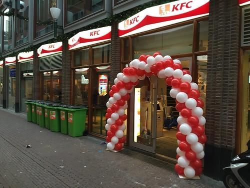 Ballonboog 6m KFC Arnhem