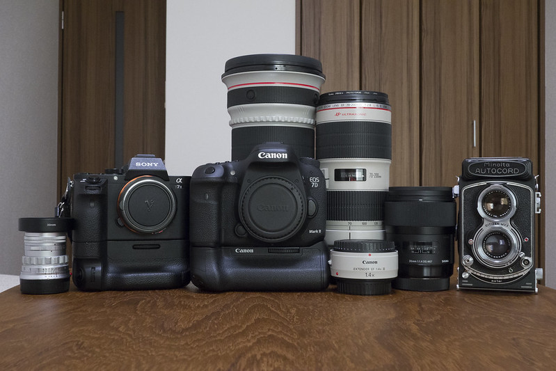 うちのカメラ達