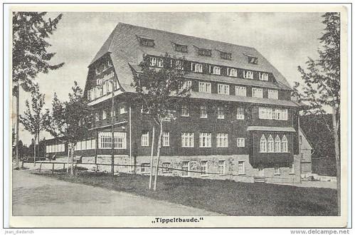 Někdejší podoba Tippeltovy boudy