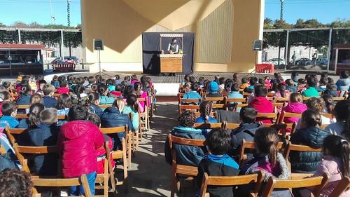 Actividades en El Arenal durante la celebración de la Feria del Libro